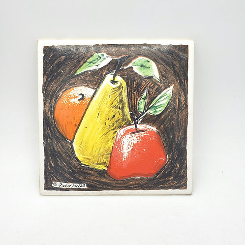 Fred Press Apple and Pear Tile