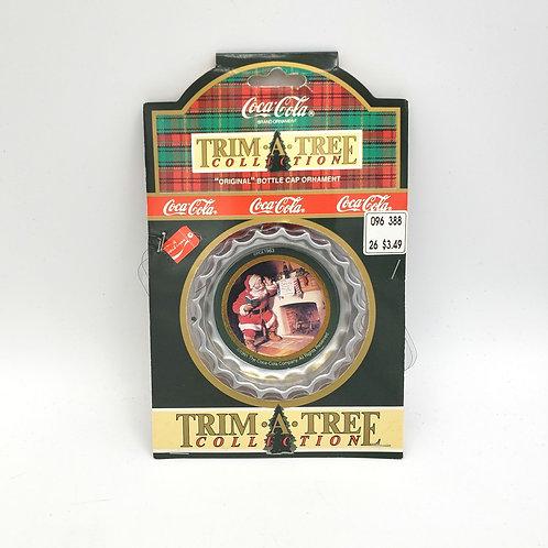 Trim-A-Tree Coca Cola Bottle Cap Ornament