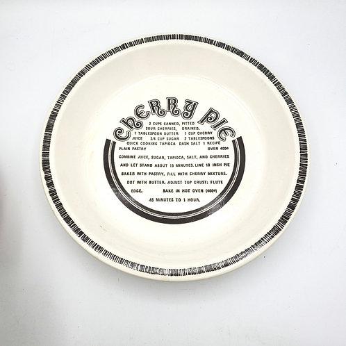 Vintage Cherry Pie Baking Plate