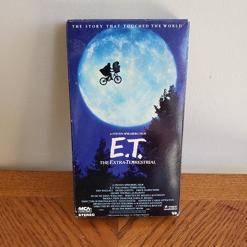 E.T. VHS Tape