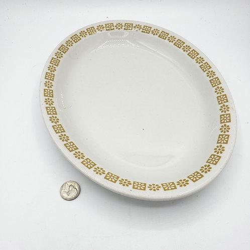 Shenango China Oval Serving Plate