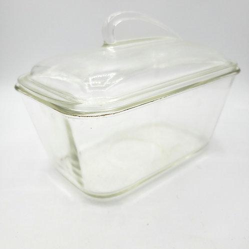 Vintage Glassbake Load Pan with Lid 1.5