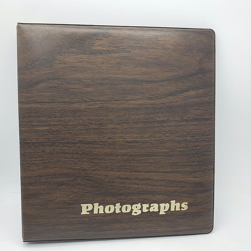 Vintage Photographs Binder