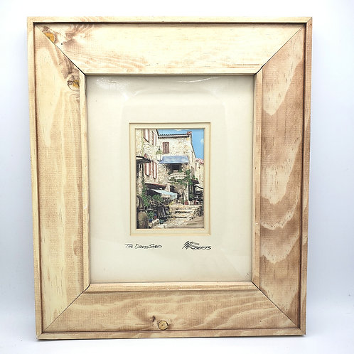 """Pier 1 Imports Matted Framed The Dress Shops M Roberts 12.5""""x14.5"""""""