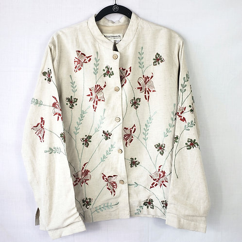 Appleseed's Embroidered Jacket - size 18