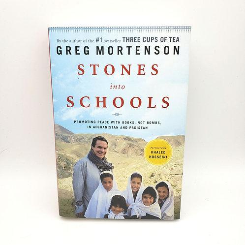 Stones into Schools by Greg Mortenson Paperback