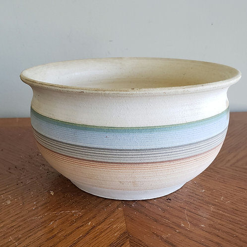 """Handmade Pottery 7"""" Pot(small stain on one side)"""