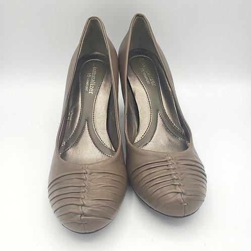 Naturalizer N5 Comfort Taupe Heels - size 8N
