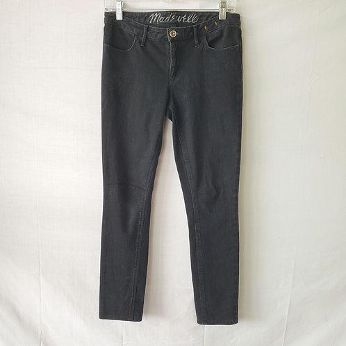 Madewell Black Skinny Jeans - size 4