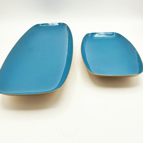 Gorham Giftware Footed Dish Set of 2