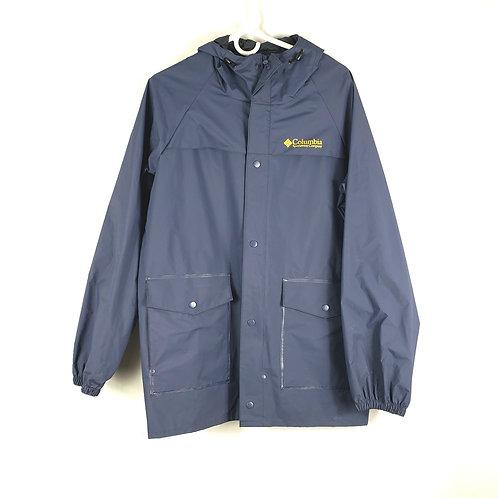 Columbia Navy Rain Jacket - S