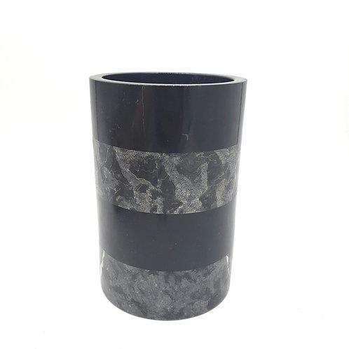 Marble Striped Utensil Holder