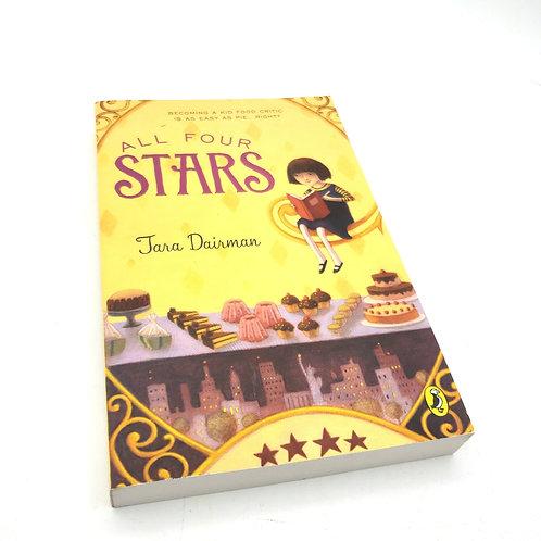 All Four Stars by Tara Dairman Paperback