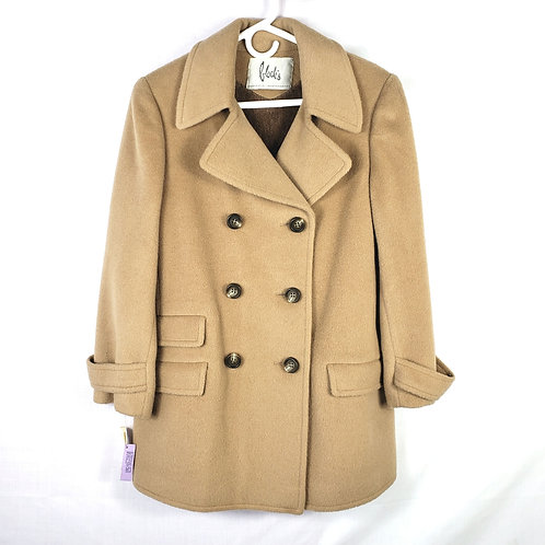 Vintage Block's Camel Wool Peacoat - New with tags