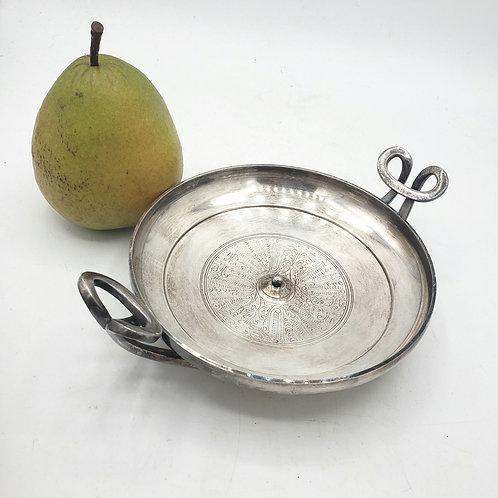 "MMA Greek KYLIX Wine Bowl by Gorham Silver Metropolitan Museum of Art 8"""