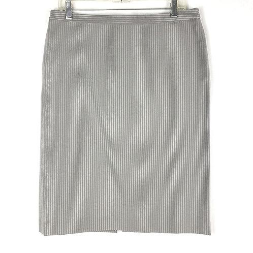 Giorgio Armani Pinstripe Pencil Skirt - size 8