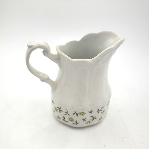 Sterling Colonial English Ironstone England Creamer Floral Base