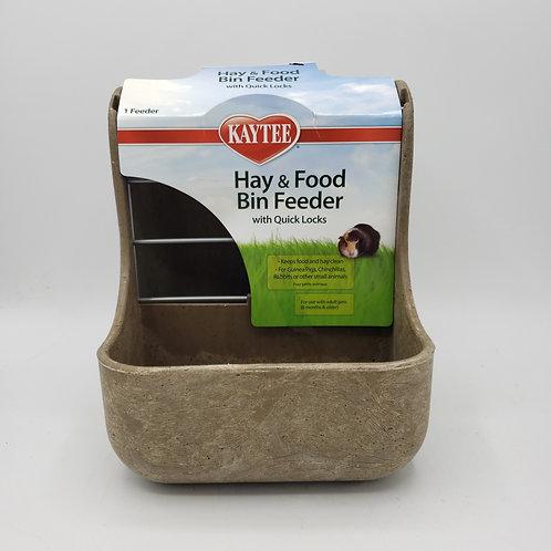 Kaytee Hay and Food Bin Feeder
