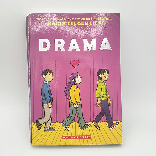 Drama by Raina Telgemeier Grades 5-9 Paperback