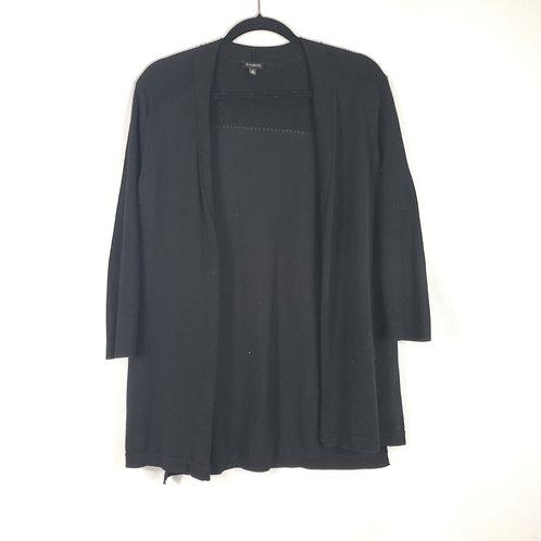 Talbots Black Open Cardigan - M