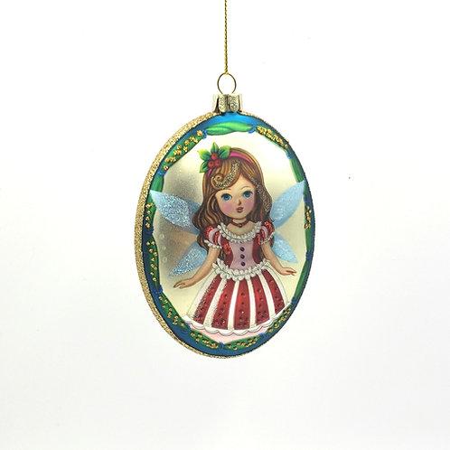 Merry Christmas Fairy Ornament NEW