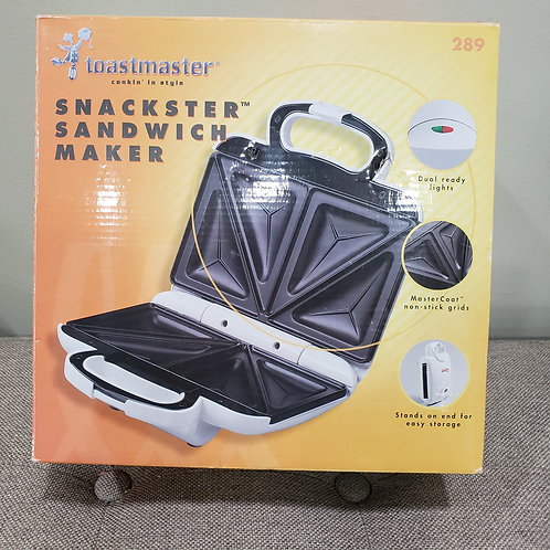 Toastmasters Sandwich Maker NEW