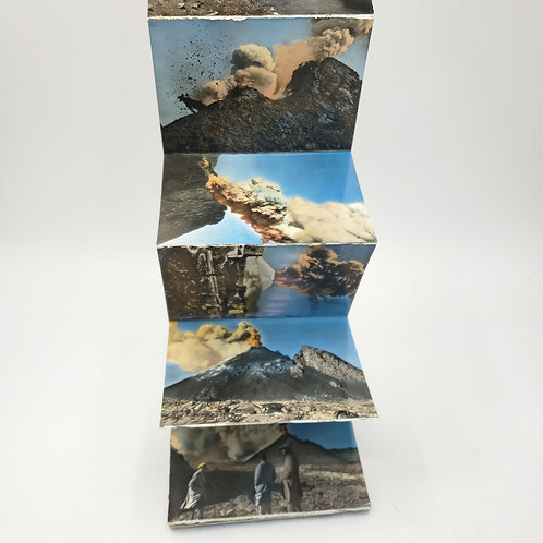 Vintage Napoli Vesuvio Photo Book Small Wallet Size