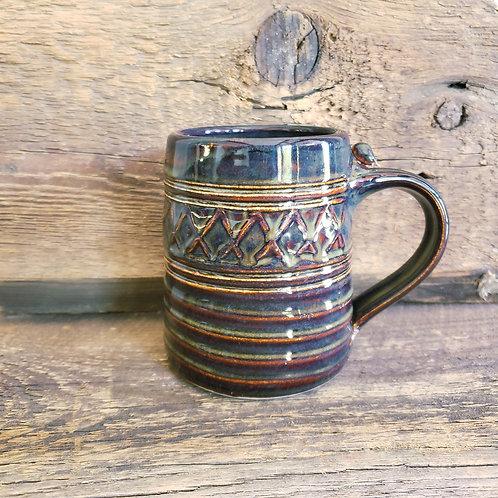 Handmade Ceramic Mug Signed  LIKE NEW