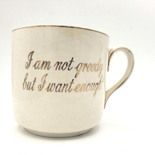 Lord Nelson Ware 1950s Novelty Oversized 22 oz Mug