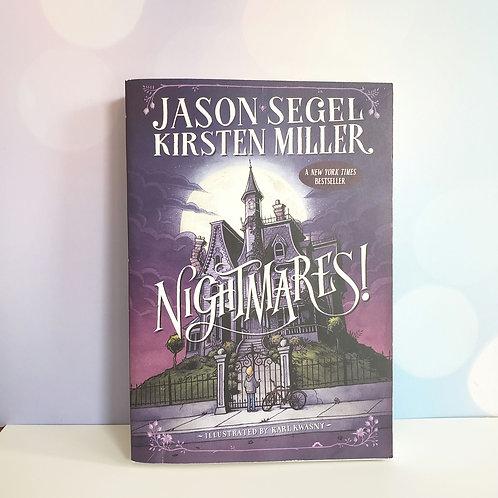 Nightmares by Jason Segel and Kirsten Miller Hardcover
