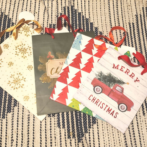 Set of 4 Gift Bags