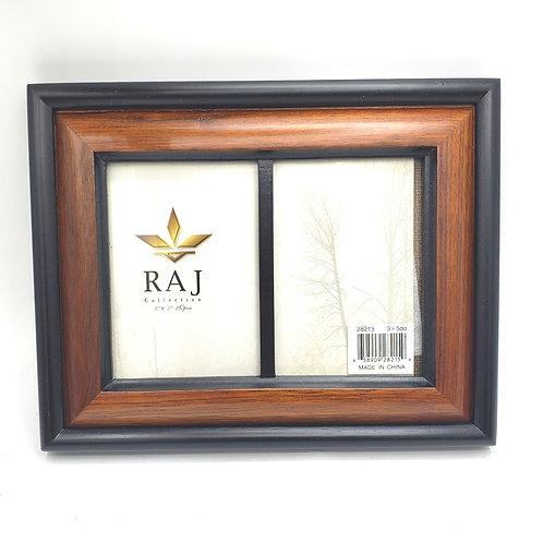 "Raj Collection 3""x5"" Double Frame"