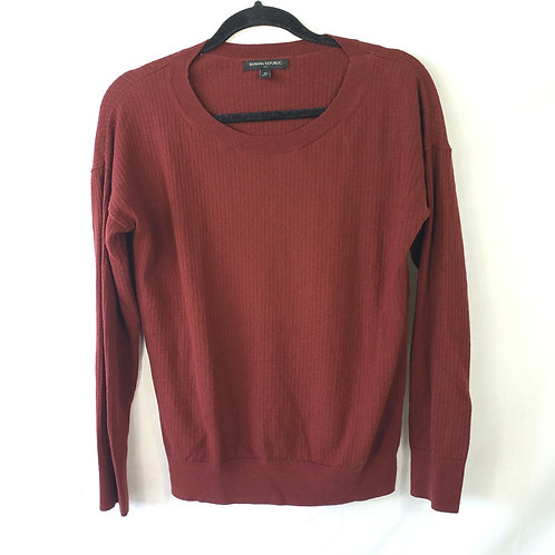 Banana Republic Brick Pullover - M