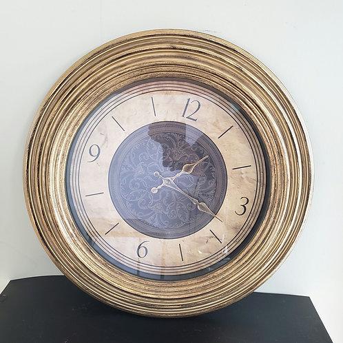 "Round Wall Clock (1 AA Battery needed) 19"" Plastic"