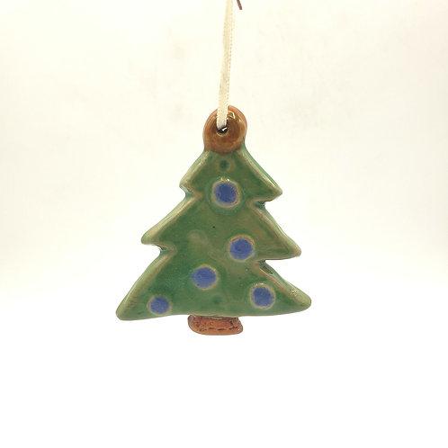 Ceramic Christmas Tree Ornament