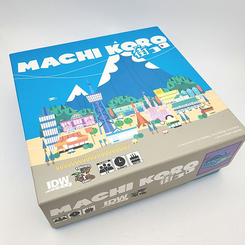 Machi Koro Board Game Age 10 Up