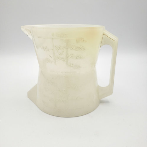 Vintage 1960s Westland Classics Double Sided Measuring Cup