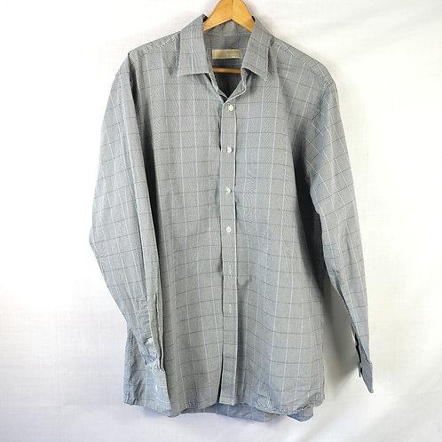 Michael Kors Gingham Button Up Shirt - size 16.5
