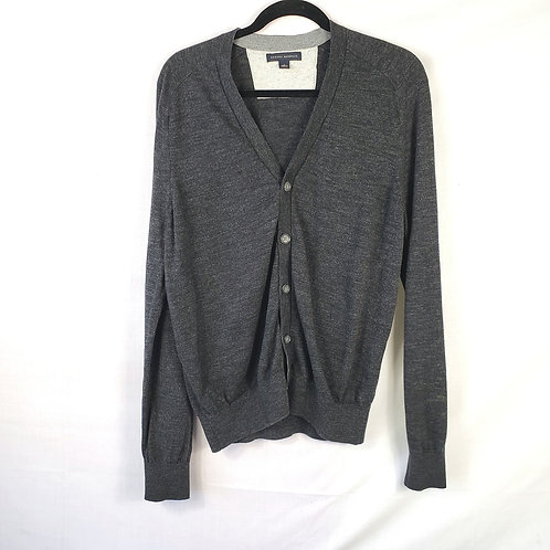 Banana Republic Dark Gray Cardigan - L