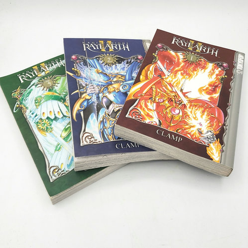 Magic Knight Rayearth II Books 1,2,3 Paperback By Clamp Paperback