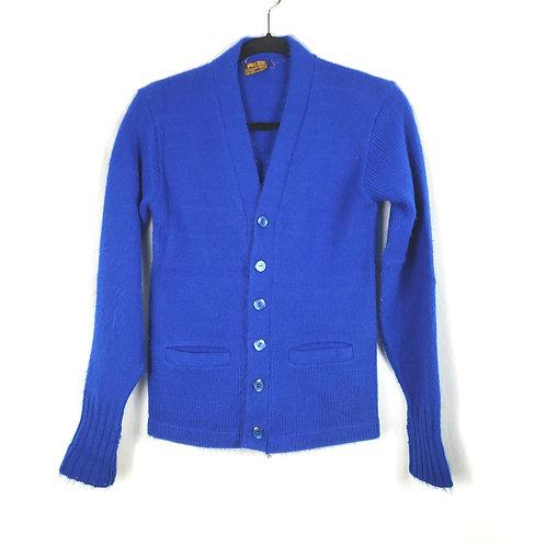 Vintage 'The Put On Shop' Orlon Cardigan - approx XS