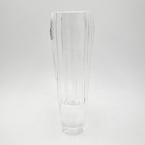 """Lenox Crystal Clear Faceted Jeweled Ice Bud Vase 7"""""""