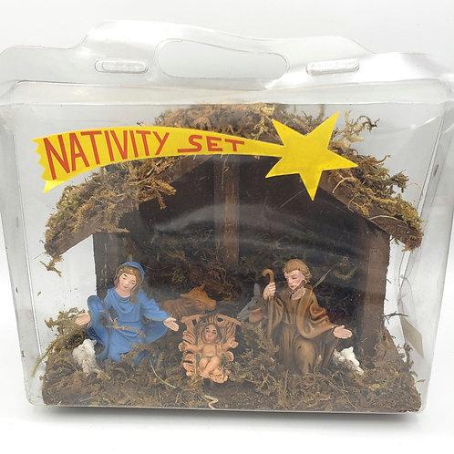Vintage Nativity Set Unopened