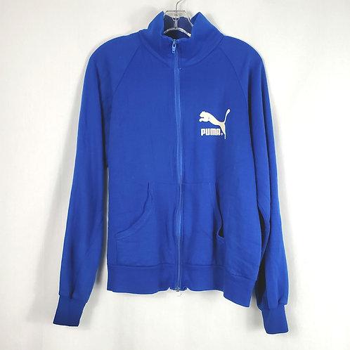 Vintage Puma Bay State Games Zip Sweatshirt - M