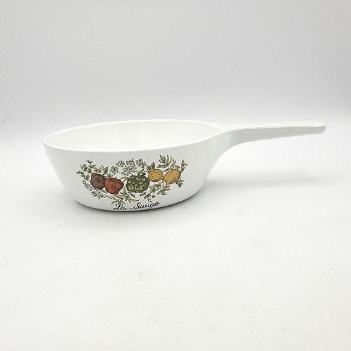 Vintage Corning Ware Saucepan 1pt