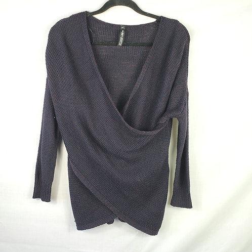 Design Lab Criss Cross Sweater - S