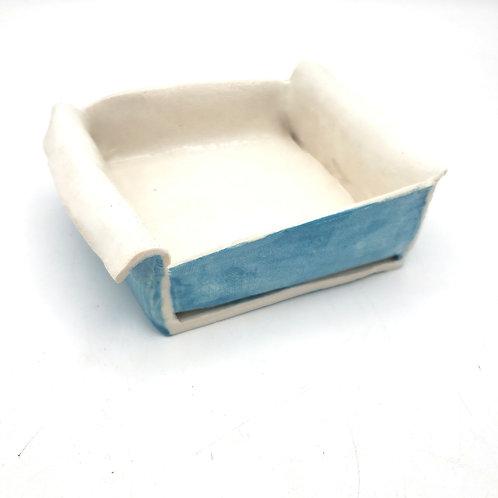 """Handmade Pottery Slab Pottery Box 4"""""""