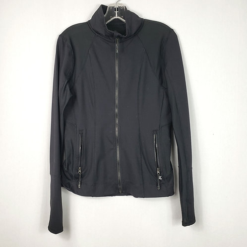 Kyodan Black Active Zip Top - M