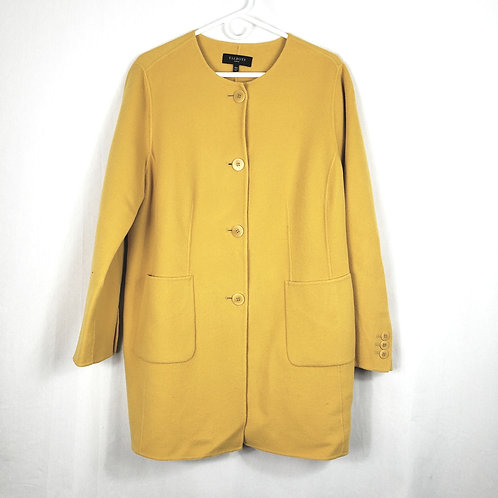 Talbots Wool Blend Yellow Jacket - 14W