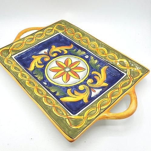 """Maxcera Ceramic Serving Platter 9""""x15"""""""
